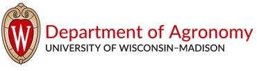 University of Wisconsin-Madison Department of Agronomy logo