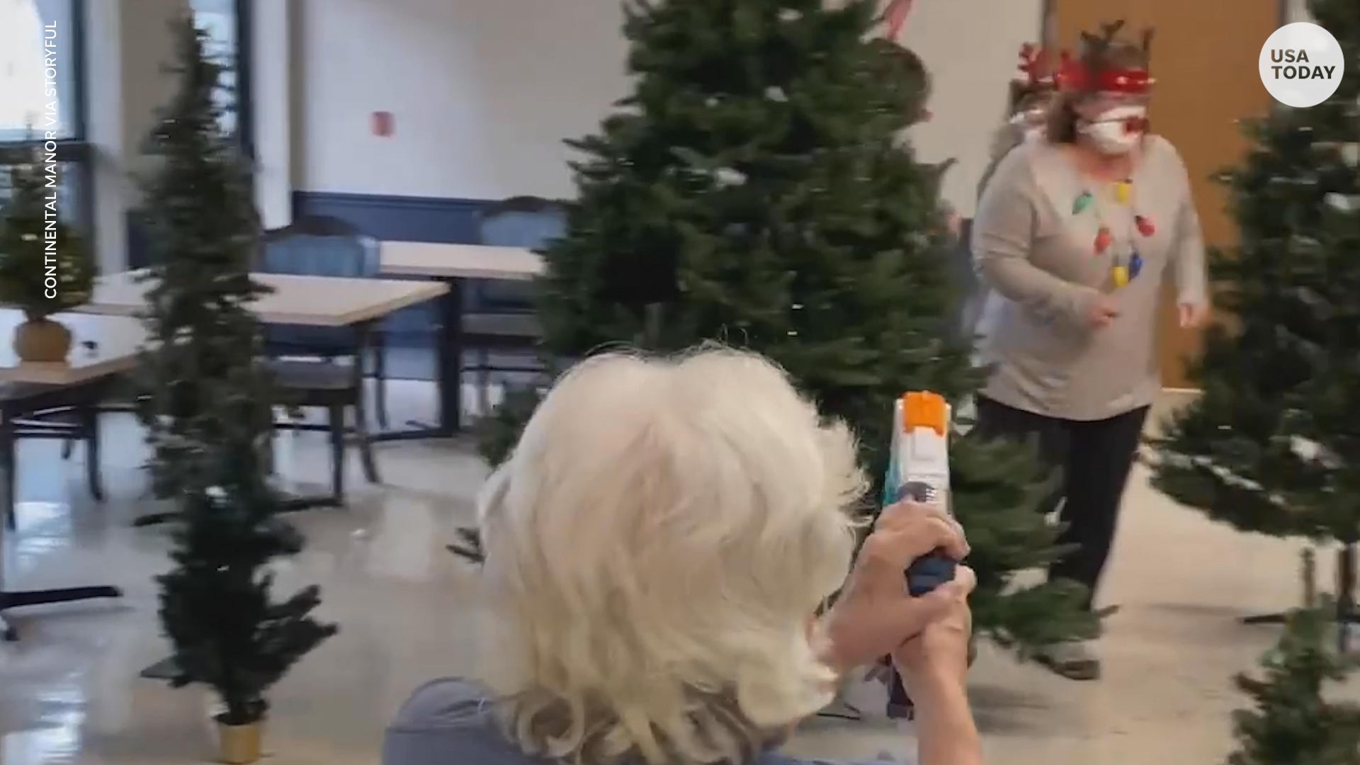 These nursing home residents' holiday 'deer hunt' will make your day