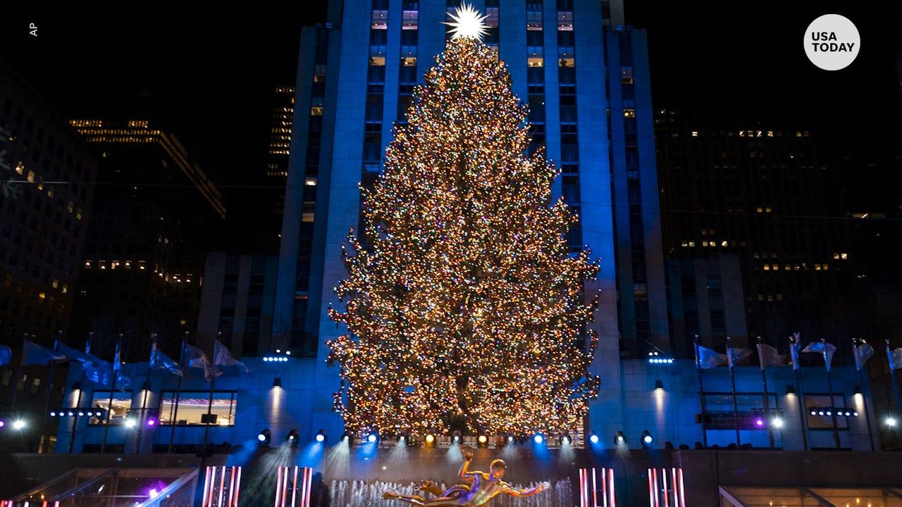 Christmas Tree Lightning Nyc 2021