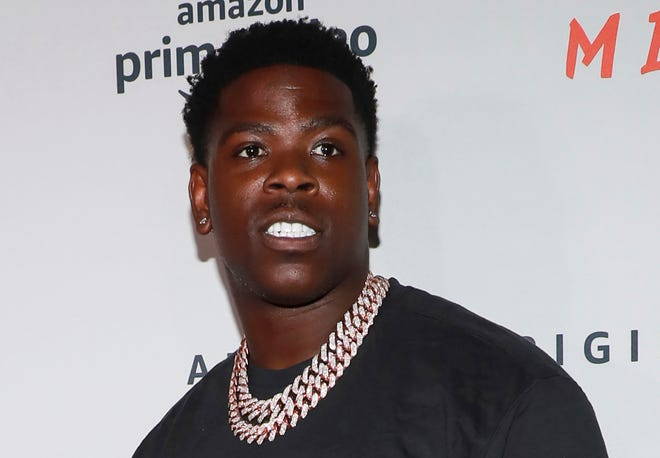 """In this Aug. 1, 2019 file photo, Casanova attends the world premiere of Amazon Prime Video's """"Free Meek"""" limited documentary series in New York."""