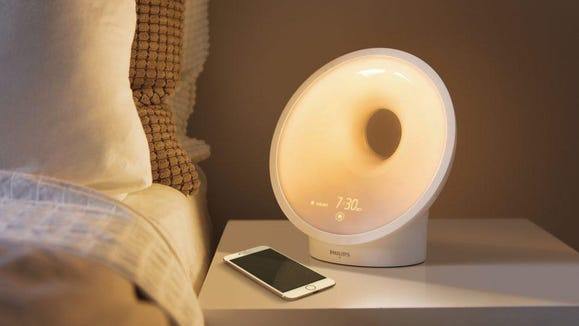 Improve your morning  with this sunrise alarm clock.