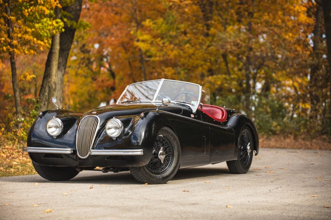 The 1948–54 Jaguar XK120 made the 2021 Hagerty Bull Market List, which projects the hottest collector cars of the new year.