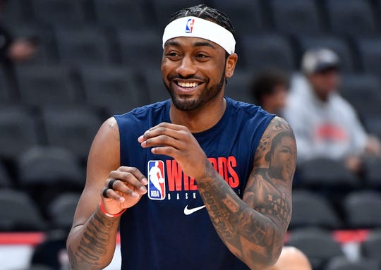 John Wall has not played in an NBA game in nearly two years.
