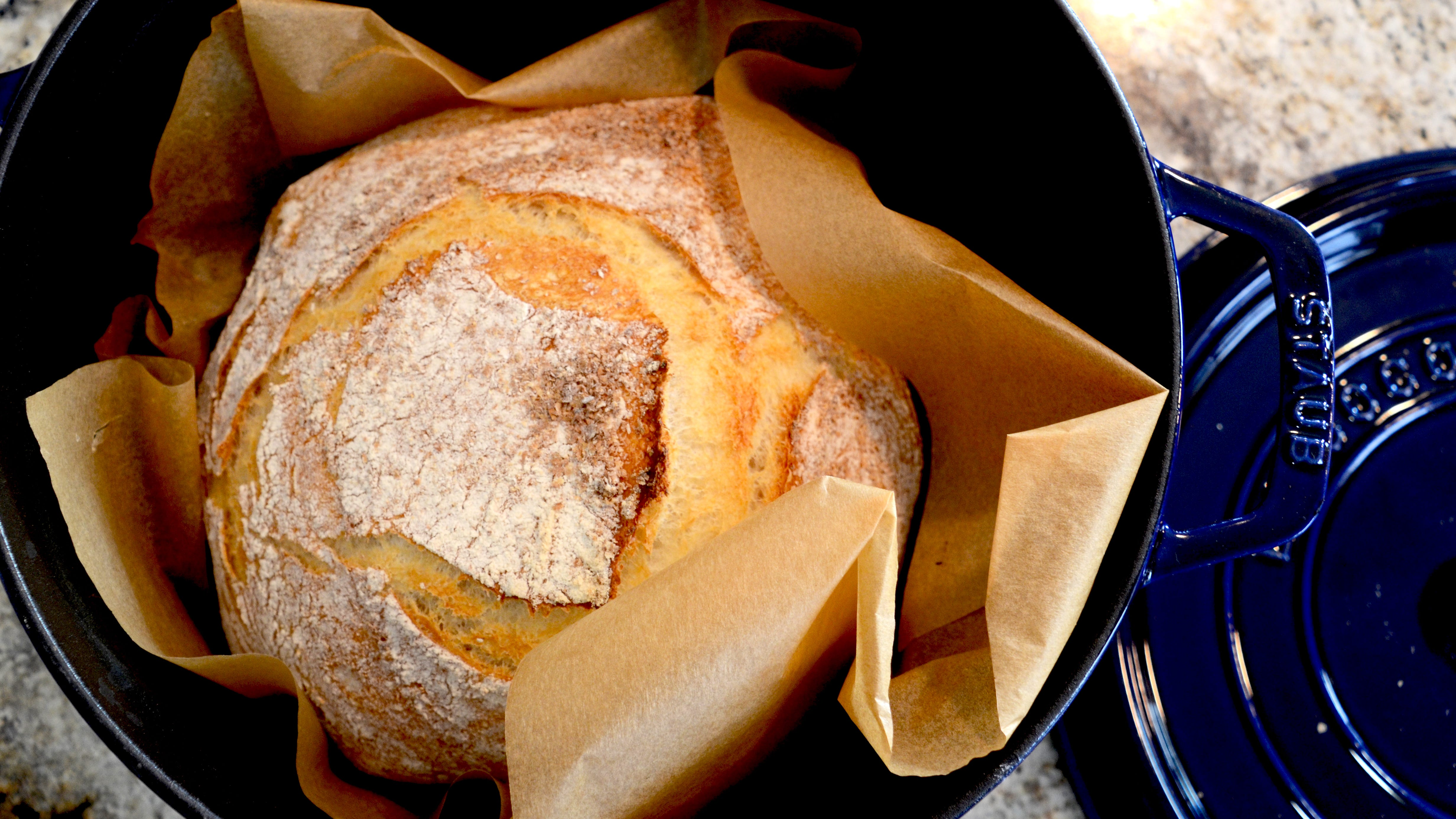 How to make bread in a dutch oven