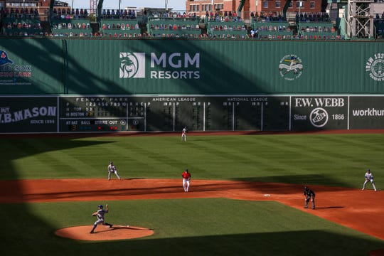 Could Fenway Park host Boston Bruins 真人百家家乐官网网站home games this season? The team said it is exploring the option.