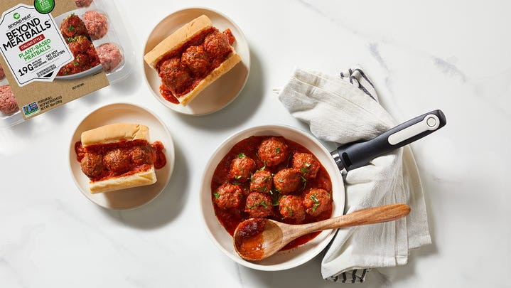 Beyond Meat's recently launched Beyond Meatballs are rolling into select Costco stores
