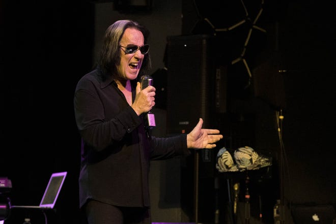 "Todd Rundgren, shown here performing at Emo's in Austin in June 2019, will present a ""geo-fenced"" virtual show targeted to Austin audiences on March 10."