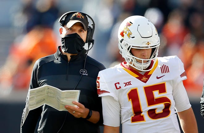 Coach Matt Campbell's Iowa State program is on the rise, and he'll have veteran quarterback Brock Purdy to help make another run at a College Football Playoff spot in 2021.
