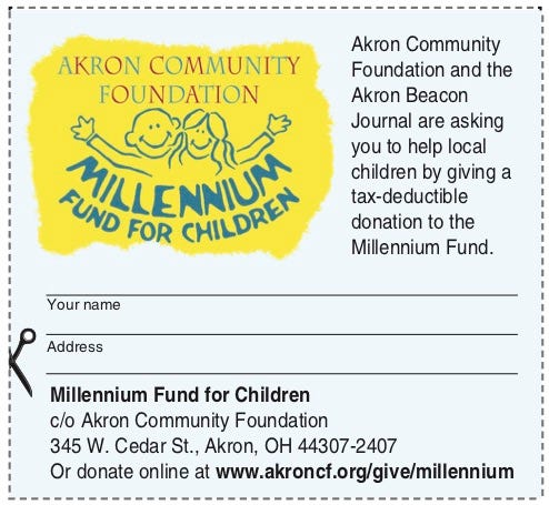 Donate to the Millennium Fund for Children.