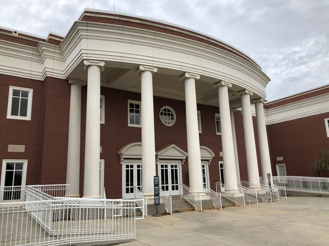 The Columbia County Judicial Center in Evans is where Superior Court cases convene. Columbia County officials, who want their own separate judicial circuit, have purchased the former TaxSlayer building to provide office space for the court system.
