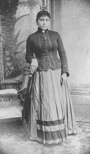 An undated photo shows Amanda Dickson, the daughter of a Hancock County slave who became one of the richest African-American women in the country. She purchased the estate home at 448 Telfair St. in Augusta in 1886.