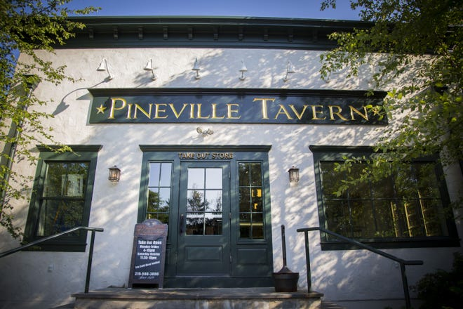 The Pineville Tavern, in Wrightstown.