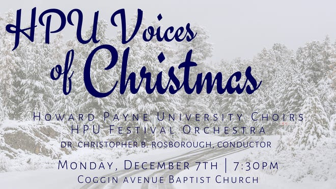 HPU voices of Christmas