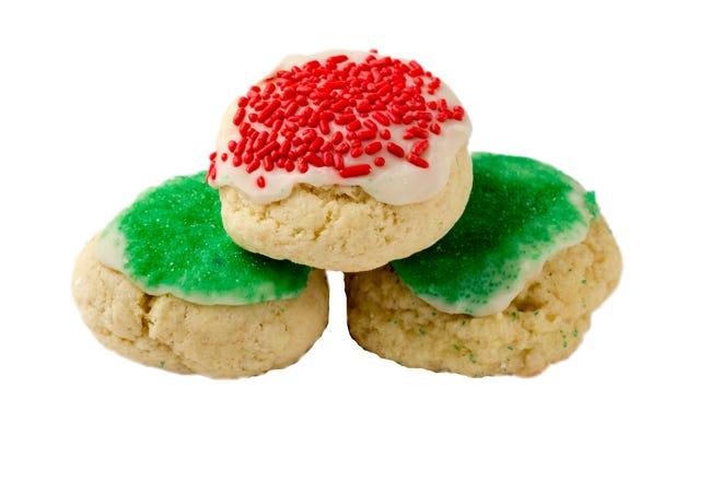 Italian Christmas cookies (Adam Cairns / The Columbus Dispatch)
