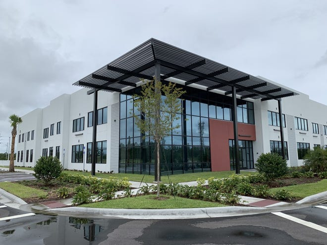 This is the newly completed office building at 2450 Mason Ave. in Daytona Beach where Florida Health Care Plans plans to move its headquarters to from Holly Hill in late 2021.