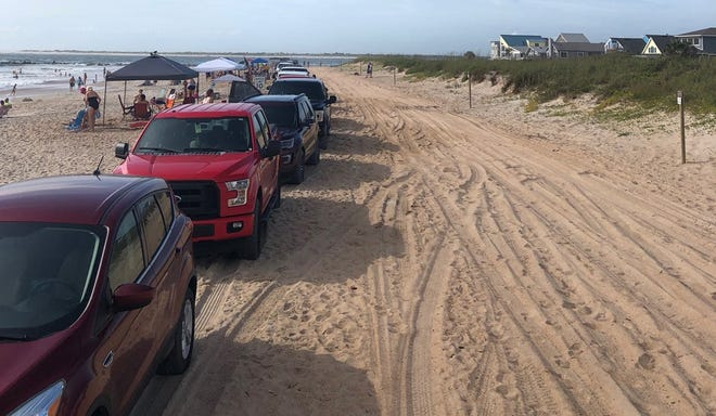 St. Johns County's Vilano Beach on a May weekend.