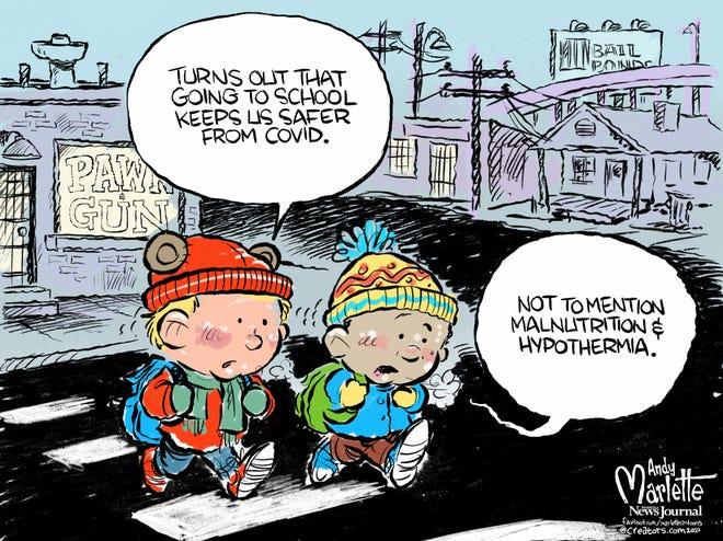 Today's editorial cartoon (Dec. 6, 2020)