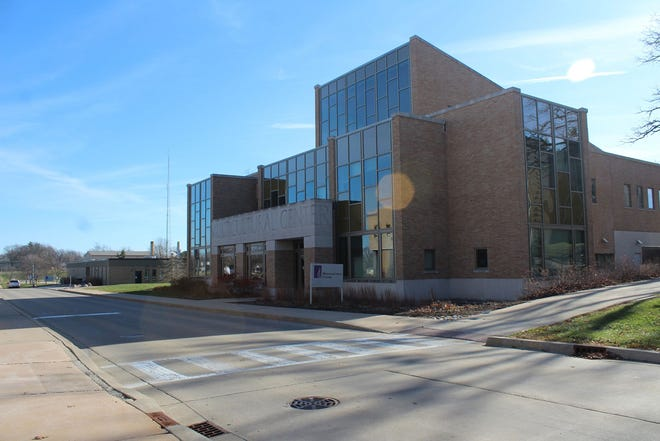 Murray Street in front of the Multicultural Center at Western Illinois University, Macomb, is typically a high-traffic area for student pedestrians. The area now stands empty due to online learning and restrictions prompted by the recent surge in positive COVID-19 cases.