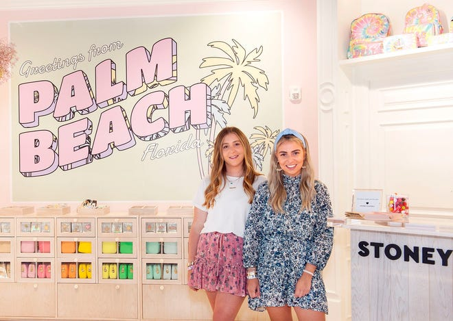 Libby, left, and Kendall Glazer, founders of Stoney Clover Lane, have teamed up with lounge and backyard event company Bliss Beach to offer curated beach spaces on the island.