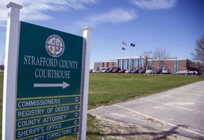 Jury trials and grand jury meetings scheduled for January have been called off in January at the Strafford County Courthouse and in three other New Hampshire counties.