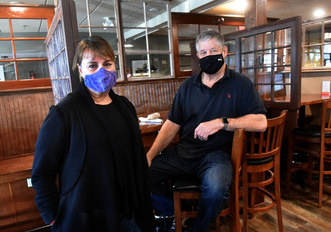 """Clark's American Bistro in Durham, the former Young's Restaurant, is one of a number of Seacoast restaurants that opened after May 29, 2019 and were left out of COVID-19 relief funding because they didn't have enough information to report a year of losses. Owners Kim and Doug Clark say the set-up """"lacks compassion"""" and believe the state should be giving relief based on number of employees."""