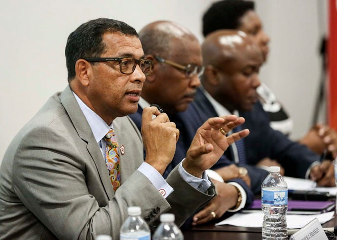 President and CEO of the Urban League of Palm Beach County Patrick J. Franklin co-chairs the West Palm Beach Mayor's Task Force on Racial and Ethnic Equality.