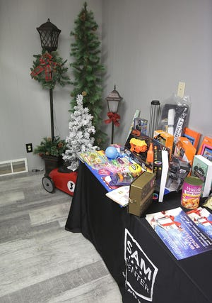 Massillon's SAM Center registered 83 families, 315 individuals and 182 children for his Christmas giveaway.
