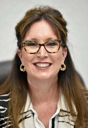 Manatee County Schools Superintendent Cynthia Saunders, seen here in an archive photo from 2019, was recognized this week for her leadership in partnering with local education foundations.
