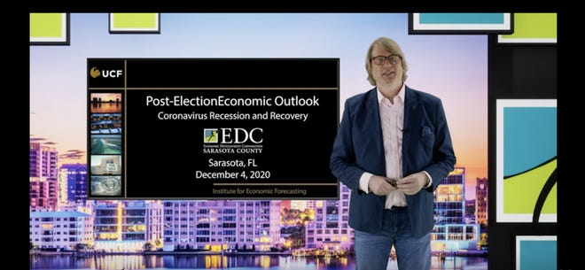 Dr. Sean Snaith, director of the Institute for Economic Competitiveness at the University of Central Florida, says Florida's leisure and hospitality industry has been disproportionally affectedby the pandemic.
