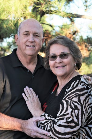 Mel and Gail Black of Shawnee were married on Nov. 25, 1970, and celebrated 50 years of marriage at their home, on Wednesday, Nov. 25, 2020.