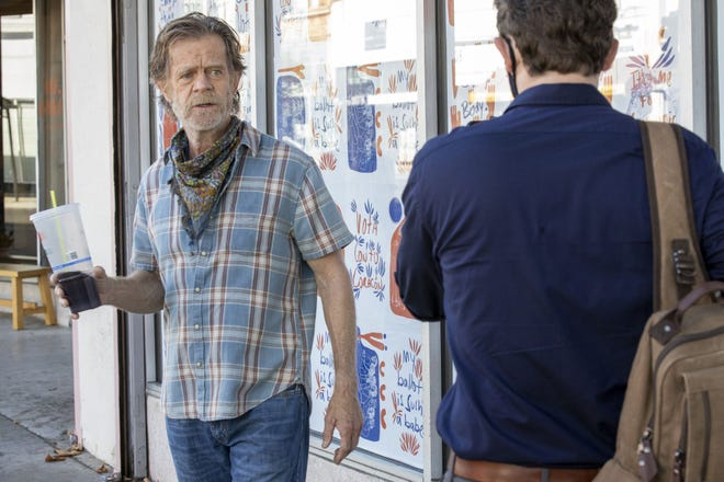 """William H. Macy portrays Frank Gallagher in a scene from """"Shameless."""""""