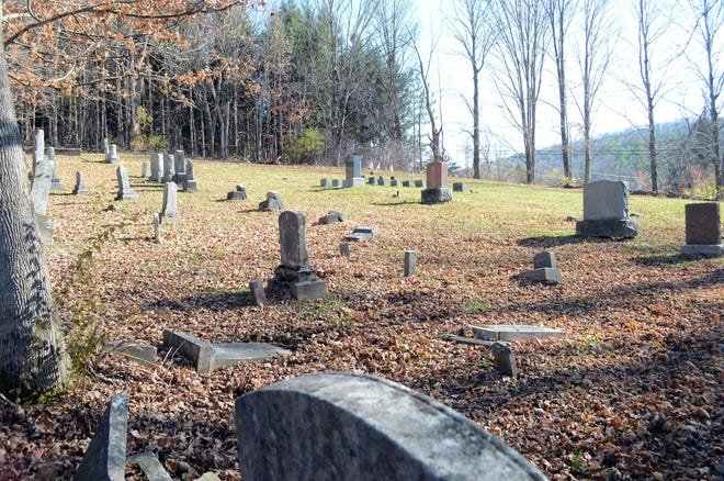 The Jewish cemetery in East Poultney, Vermont., contains somewhere between 60 and 85 graves.