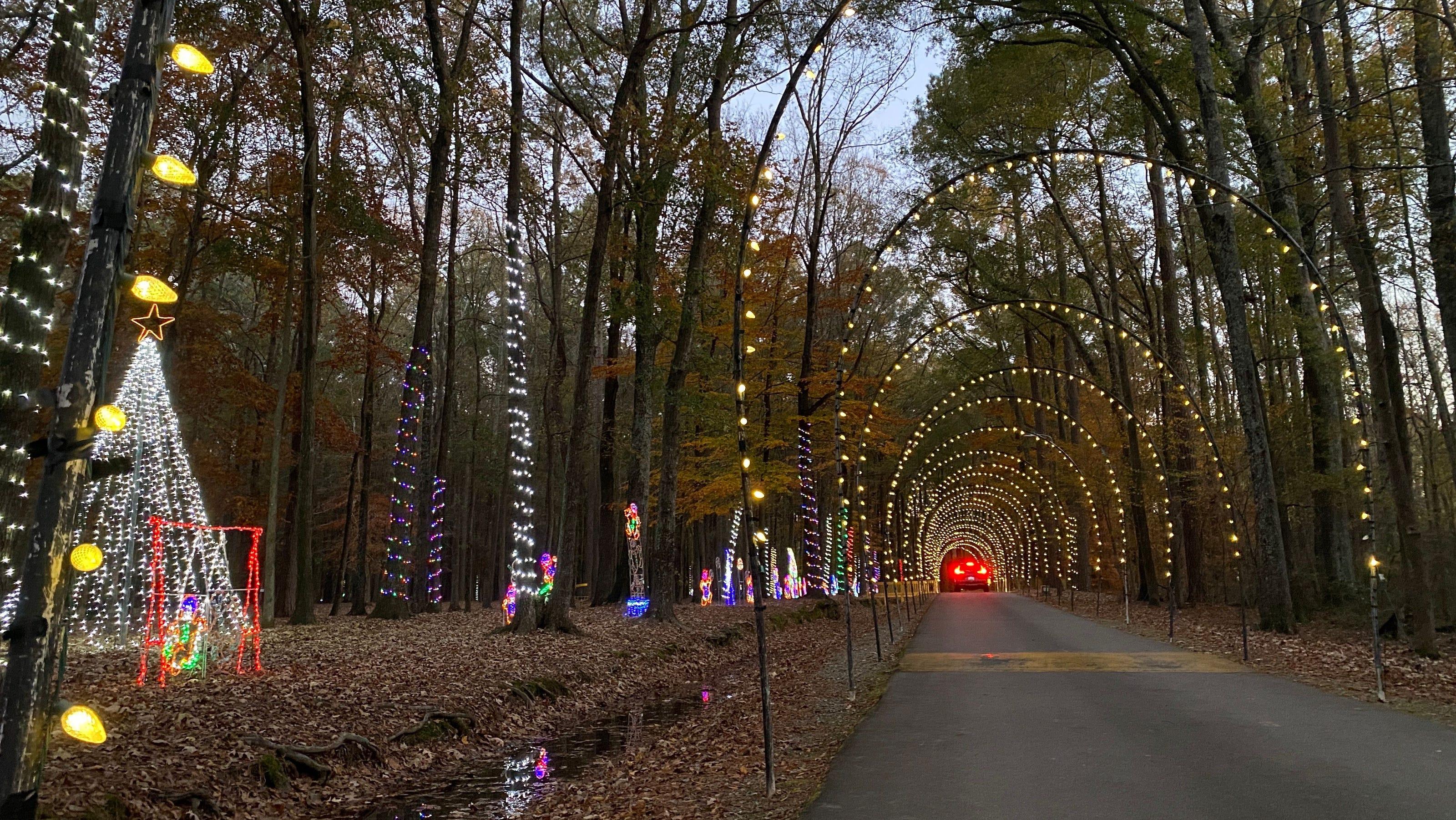 Fayetteville Nc Kinwood Christmas Lights 2021 Christmas Lights In The Fayetteville Area