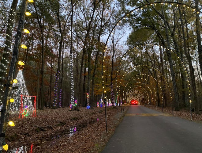 Christmas in the Park at Arnette Park in Fayetteville is free.