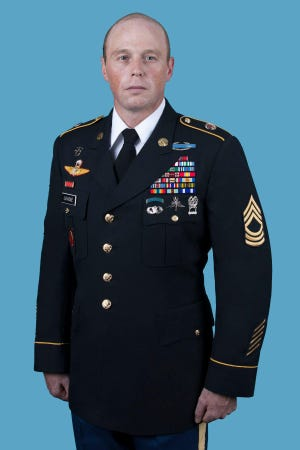 Master Sgt. William LaVigne was identified as one of the people found dead at a Fort Bragg training area Wednesday, Dec. 2, 2020, officials said.