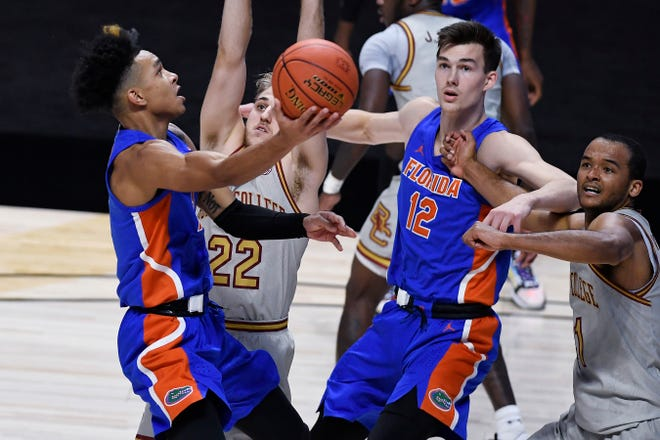 Florida guard Tre Mann should be the player with the ball in his hands in clutch situations.