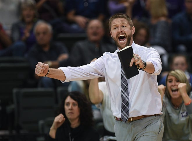 Brenden Pence has stepped down as DeSales girls volleyball coach following a four-year run that included a Division I state championship in 2019.