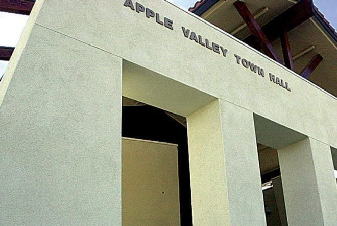 The Town of Apple Valley Hall.