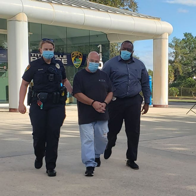 Thomas Grasso, a 57-year-old Port St. John massage therapist, was taken into custody Thursday and booked into the Brevard County Jail in lieu of $96,000 bail.