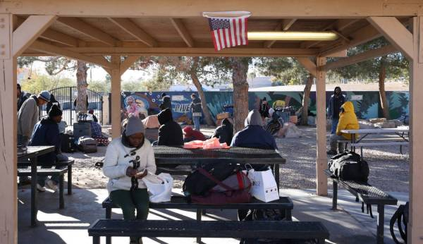 """This is a """"drop in"""" homeless shelter in Las Vegas, Nevada."""
