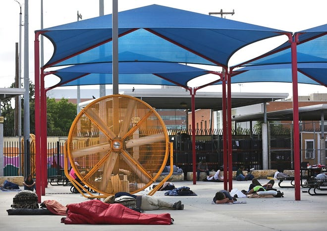 """The city of Corpus Christi is looking at modeling the """"drop in"""" facility in San Antonio called Haven for Hope."""