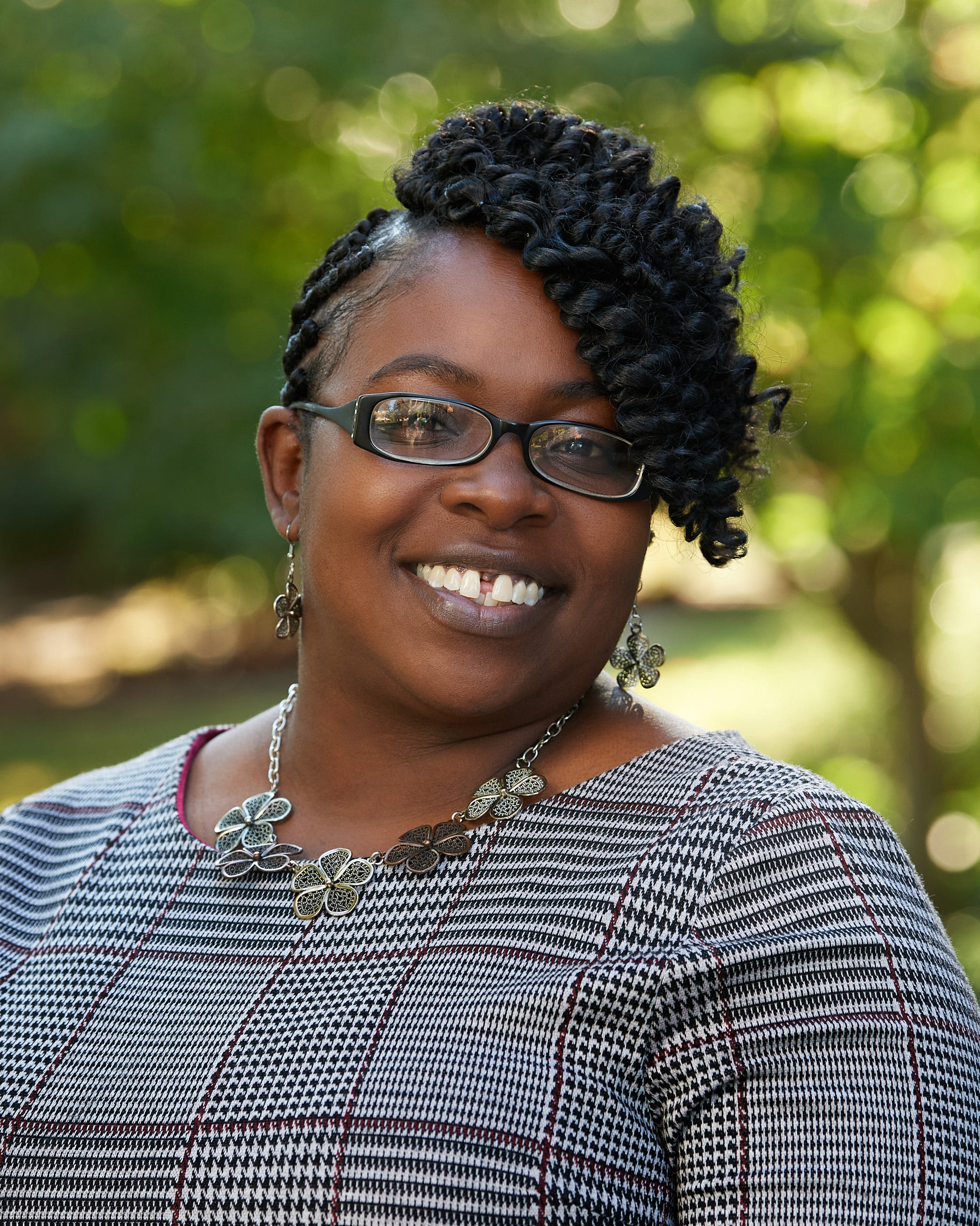 Keena Williams, Albion College's chief belonging officer and Title IX coordinator