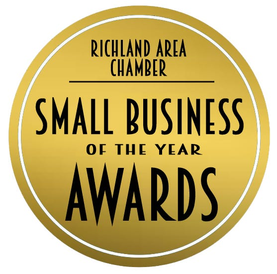 The Richland Area Chamber will be presenting its Small Business of the Year awards on Dec. 16 during a live stream event on Facebook.