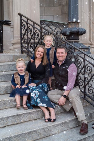 The Ausman family hopes to use their NICU experience to help others through their nonprofit foundation, littlest.