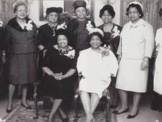 Members of the Women's Political Council.