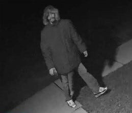 Northville Township police are trying to identify this person they suspect of damaging the Northville Woods complex.