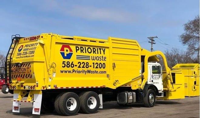 Priority Waste is taking over trash pickup in Westland.
