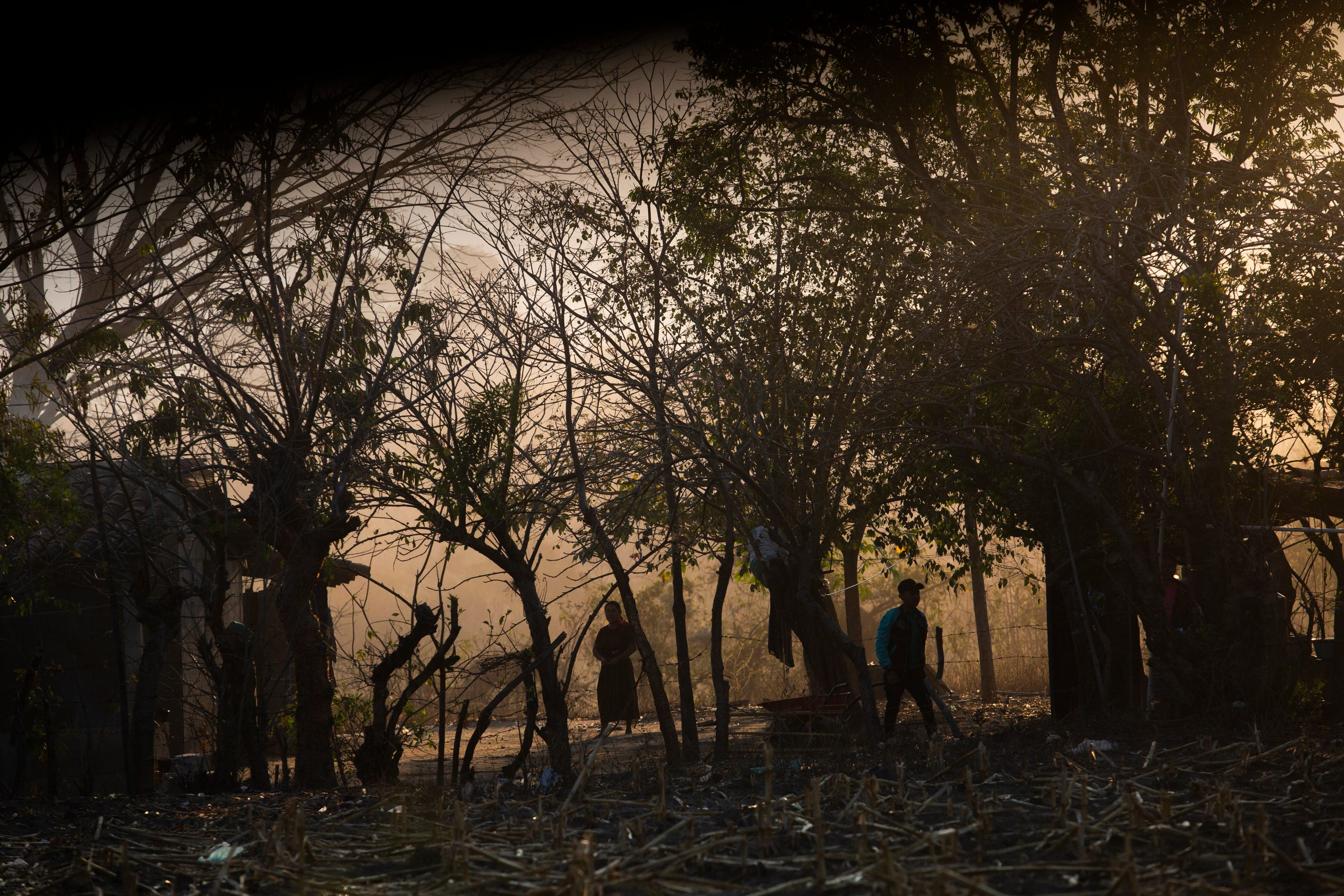 The sun rises in early March 2020 over the Mayan village where Francisco Sical lives with his family in Baja Verapaz, Guatemala.