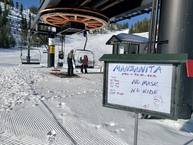 Hoodoo Ski Area opened Friday, Dec. 4, with public health measures in place to slow the spread of coronavirus.