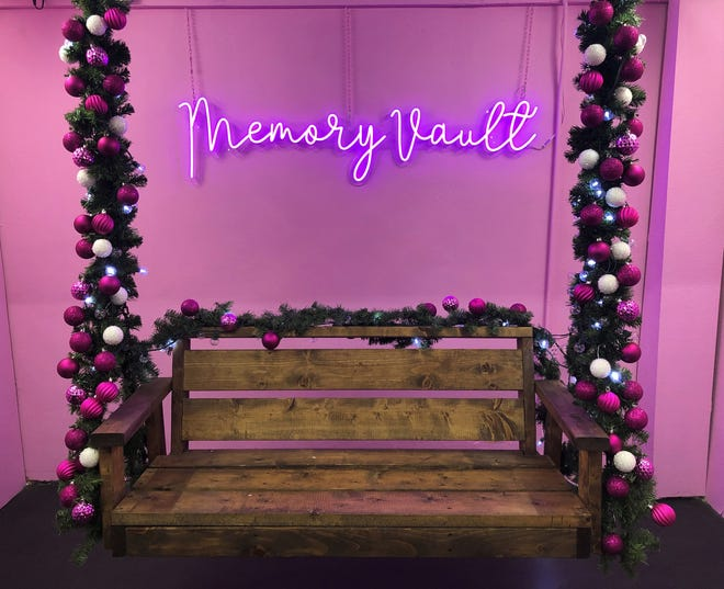 Memory Vault, 8 E. Concho, is an interactive selfie studio with several backdrops sure to get you that perfect Instagram photo.
